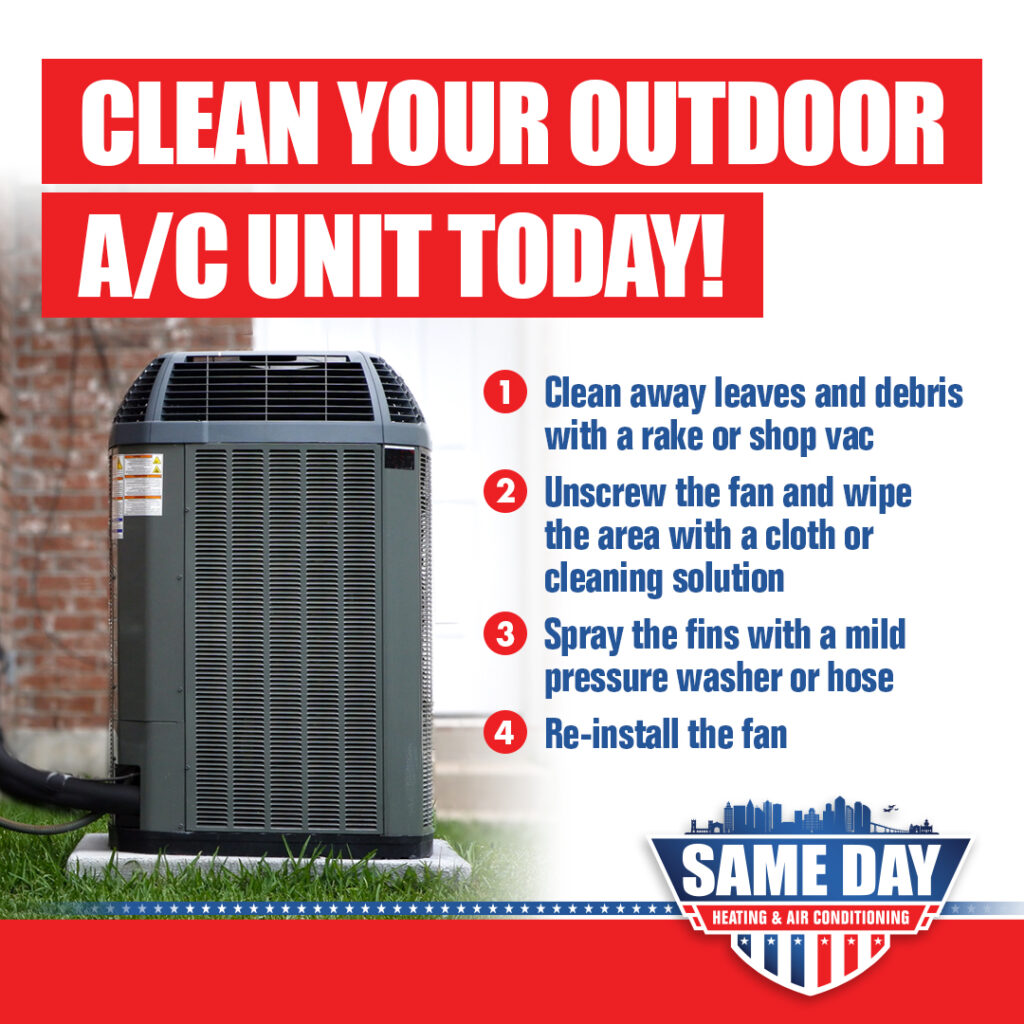 clean your home air conditioner